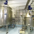 Stock Photo: Fermentation tanks