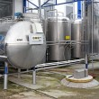 Milk chilling plant - Foto de Stock