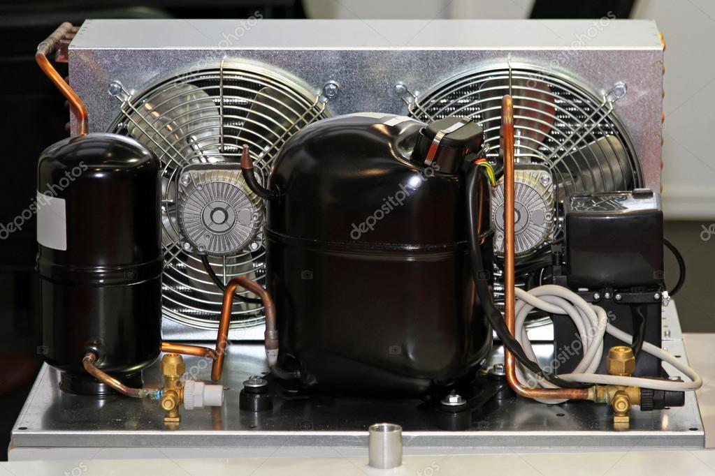 Refrigerator Compressor Unit Stock Photo Baloncici