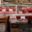 Stock Photo: Butcher stall