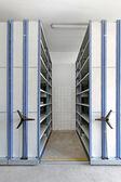 Rolling Shelves — Stock Photo