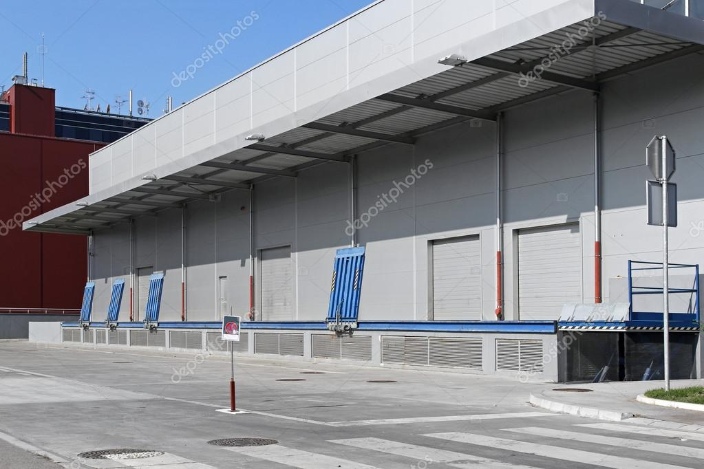 Warehouse Exterior Stock Photo Baloncici 12722132