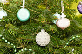 Christmas pendants — Stock Photo