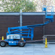 Telescopic boom lift — Stock Photo