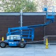 Stockfoto: Telescopic boom lift