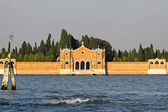 Venetian Cemetery island — Stock Photo