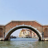 Venice bridge — Stock Photo