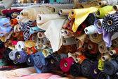 Fabric rolls — Stock Photo