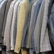 Suits and coats — Stock Photo