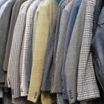 ternos e casacos — Foto Stock
