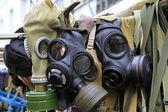 Gaz maskeleri — Stok fotoğraf