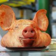Pig head - Stock Photo