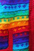 Rainbow wool — Stock Photo
