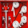 Fire equipment — Stock Photo
