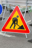 Road works — Stock Photo