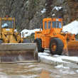 Stock Photo: Snow movers