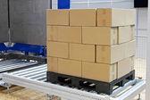 Pallet box — Stock Photo