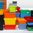 Plastic crates — Stock Photo #15486739