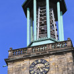 Aegidienkirche tower bells — Stock Photo