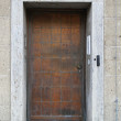 Metal door — Stock Photo #15580213
