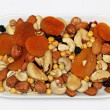 Dried fruits and nuts — Stock Photo #15650539