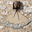 Stock Photo: Sundial clock