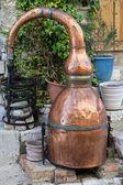 Brandy distiller — Stock Photo