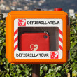 Royalty-Free Stock Photo: Defibrillator