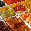 Stock Photo: Candied fruits