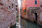 Venetiaanse smalle kanaal — Stockfoto