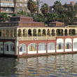 Stock Photo: Floating restaurant Nile