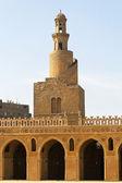 Spirale minarett ibn tulun — Stockfoto