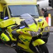 Ambulance bike - Stock Photo