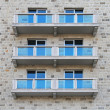 Balconies — Stock Photo #17978471