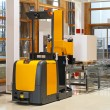 Stock Photo: Automated forklift