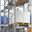 Stock Photo: Storehouse racking