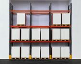 Pallet shelf — Stock Photo