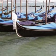 Stock Video: Venice gondolas