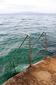 Stairway to sea — Stockfoto