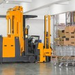 Stacker forklift — Stock Photo #18508927