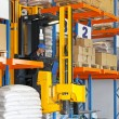 Forklift stacker — Stock Photo #18812903