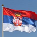 Serbia flag — Stock Photo #19536425