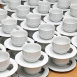 Stock Photo: Tea cups