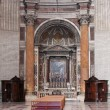 Altar in Cathedral — Foto Stock