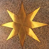 Golden star — Стоковое фото