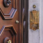 Door intercom — Stock Photo