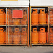 Gas cylinders LPG — Stock Photo