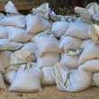 Sandbags - Stock Photo