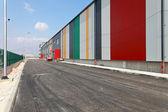 Magazzino access road — Foto Stock