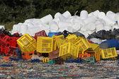 回收塑料 — 图库照片